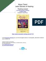 Ayurveda Secrets of Healing Maya Tiwari.07172 1Contents