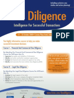 Due Diligence Tools & Techniques