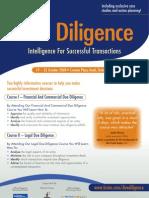 Due Diligence Tools & Techniques