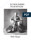Early Southern Guitar Styles