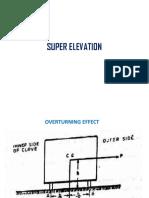 Super Elevation