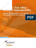 Improve Research Reproducibility in Your Lab