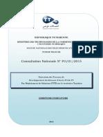CCAP Conditions d'Exécution - Extension Réseaux Accès FO