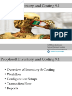 Peoplesoft Inventory Costing