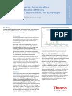 TN 64287 LC MS Orbitrap MS Terminology Advantages TN64287 En