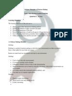 Principles of Pattern Making