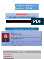 1. the Importance of Proteinuria as Predictor of CVD - Syafrizal