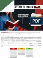 Roteiro Estudos 1fase Xxvii Exame Oab 120dias - Portal exame de ordem