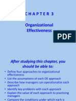 1,Chapter 3 - Organizational Effectiveness(1)