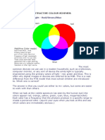Additive and Subtractive Colour Schemebuilding Services- 2s
