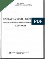 Recuperare Genunchi - Unitatea Sold-Genunchi -Prof. Dr. Adriana Sarah Nica