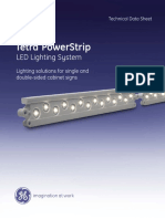 GE LED Signage Lighting Tetra PowerStrip Data Sheet
