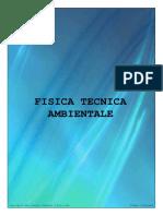 (Architettura - Appunti) Giacomo Tomei - Fisica Tecnica - Fisica Tecnica Ambientale