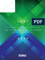 Making Progress Towards Attaining the Sustainable Development Goals in Africa