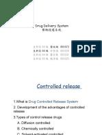 Drug Delevery System