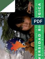 Estrategia Nacional para la Conservación de la Diversidad Biológica