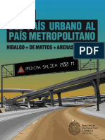 Del Pais Urbano Al Pais Metropolitano Hidalgo y de Mattos