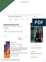 Best Hollywood Movies of 2017 - IMDb