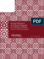 Revista eletronica o TRT BA - Novo CPC e Justica do trabalho