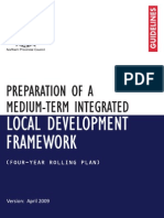 04 Preparation of a Medium-term Integrated Local Dvelopment Framework - Guidelines - March 2009