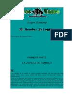 Zelazny, Roger - Mi Nombre Es Legion.doc