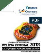 Caderno_500_Questoes_PF_2018_CESPE_01