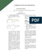 p3 Generación y Medida de Altos Voltajes Impulso