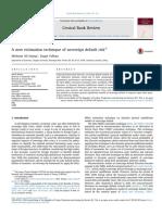 A New Estimation Technique of Sovereign Default Risk 2016 Central Bank Revie