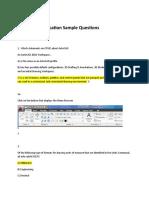 AutoCAD Associate Sample Questions2