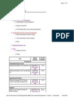 Contamination Control Web Page