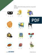 Activity Sheet   Grade 1-2   Halloween Sounds