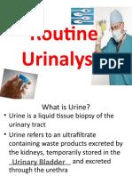 Intro to Urinalysis & Physical Exam