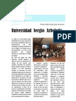 Compendio de Reseñas Visita a La Universidad Sergio Arboleda 2018