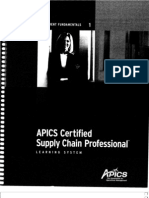 1 Supply Chain Management Fundamentals