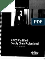 1 Supply Chain Management Fundamentals