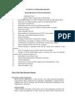 student internship report requirements