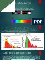 Primera Ley de La Fotoquímica