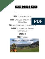 Informe de Topografia 2