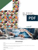 El Chile Que Viene CADEM Junio 2018