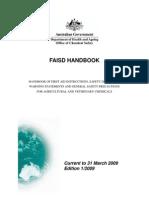 FAISD Handbook March 2009