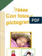 Frases con fotos y pictogramas