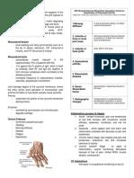 Rheumatoid Arthritis Report