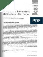 Maria L. Q. de Moraes. Marxismo e feminismo - afinidades e diferenças.pdf