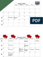 2010 Calendars_Fall 2010