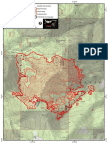 Hendrix Fire infrared map for Monday, 7/23