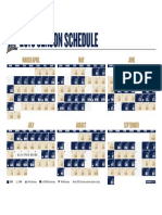 Print Able Schedule