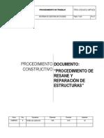 PRO-CON-012-MPVES - Resane y Reparación de Estructuras.docx
