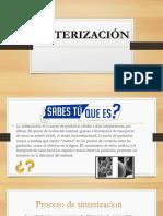 diapositivas sinterizacion
