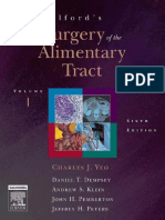 Charles J. Yeo MD Shackelfords Surgery of the Alimentary Tract 2-Volume Set, 6th Edition