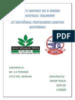 NFL Bathinda Training Project Report File